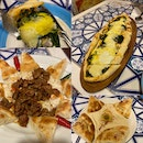 Hummus, Spinach Pide With Cheese, Ali Nazik