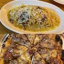 Carbonara And Salami