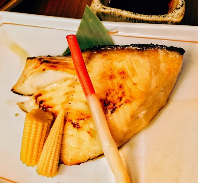 Grilled Miso Cod ($28++)
