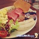All day breakfast but it's my dinner from coffeebean #coffeebean #bistro #umakemehungry #makanhunt #jurongpoint #jp #breakfast #dinner