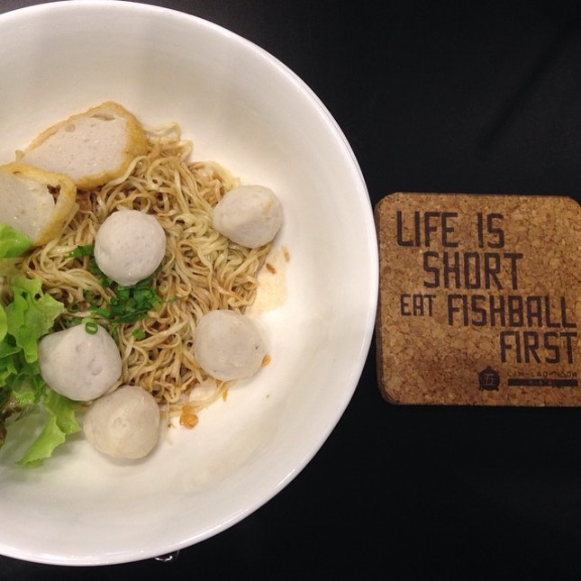 Signature Noodle with fish ball