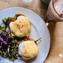 WOW ! Love the Parma Ham Benedict !!!