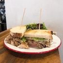 """Roast Pork Sandwich"" ($20++)"