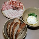 Sourdough, Burrata & Gremolata, Charcuterie