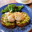 Avocado Smash ($18+) Soy Milk Latte ($7.50+)