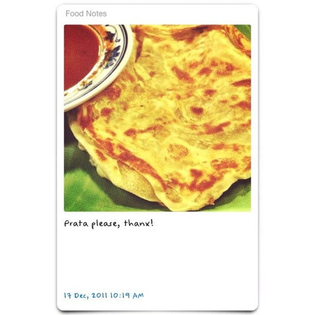 Good #Prata anytime is great!