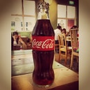 The Coke side of Life :) #whitagram #cocacola #coke #burpple #eatplaylovecafe