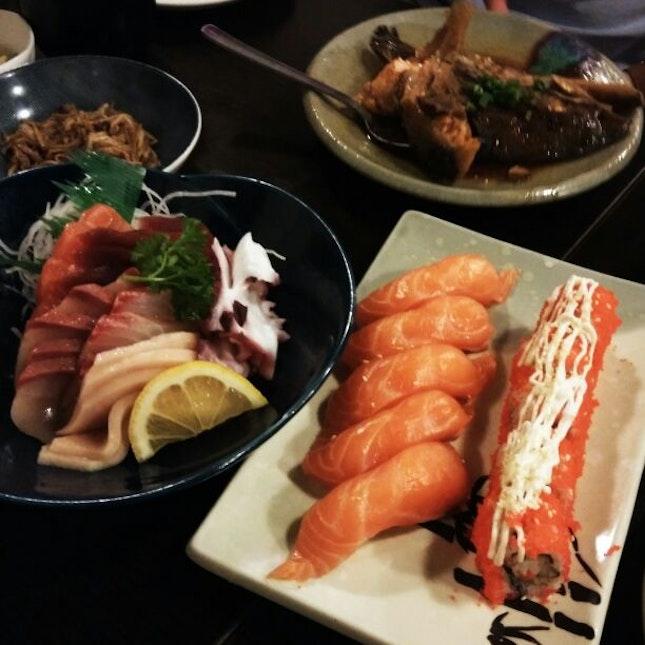 Fresh And Good Japanese Buffet.