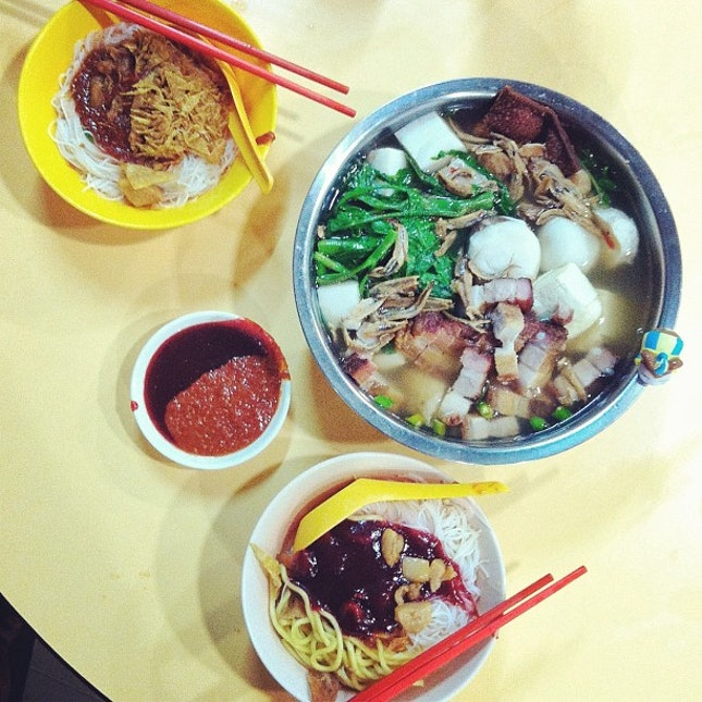 #Latergram- Midnight Yong Tau Foo at 1250 a.m.