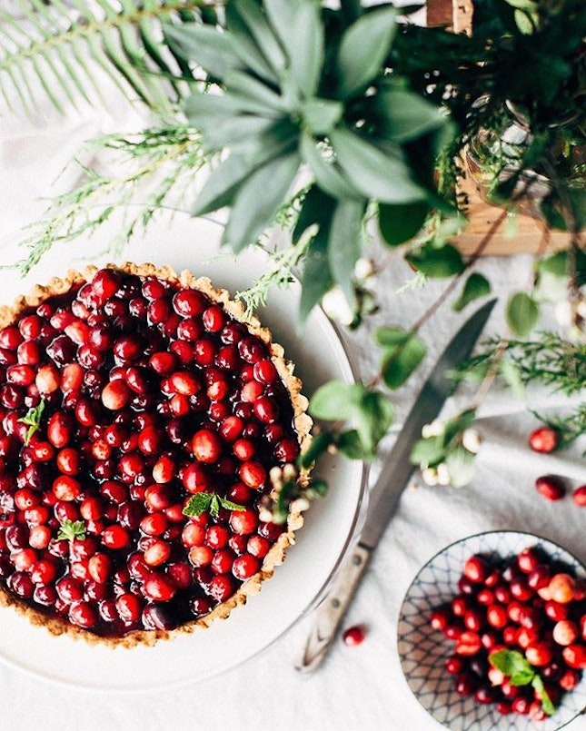 We're staying currant today with a tart that doubles as a sweet dream, as it's World Baking Day!