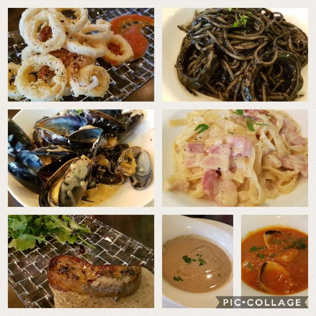 Nice Italian/French Dishes