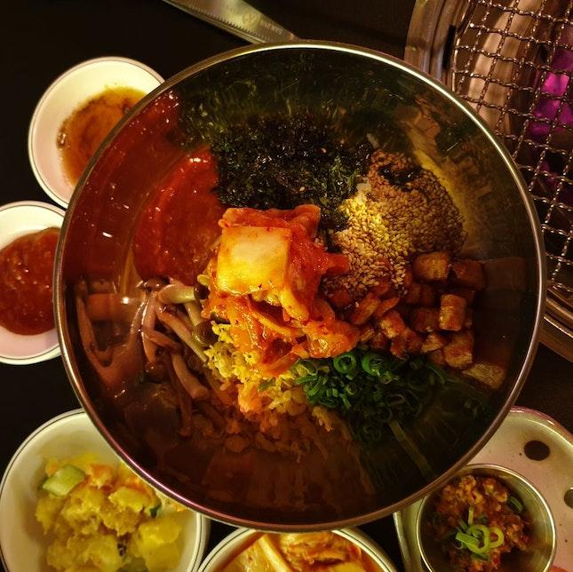 Korean Spicy Rice Bowl