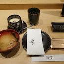 Chawanmushi & Miso Soup