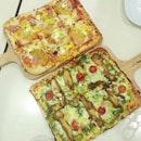 Pizza for dinner before Captain America!