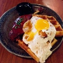 Duck Confit Waffle