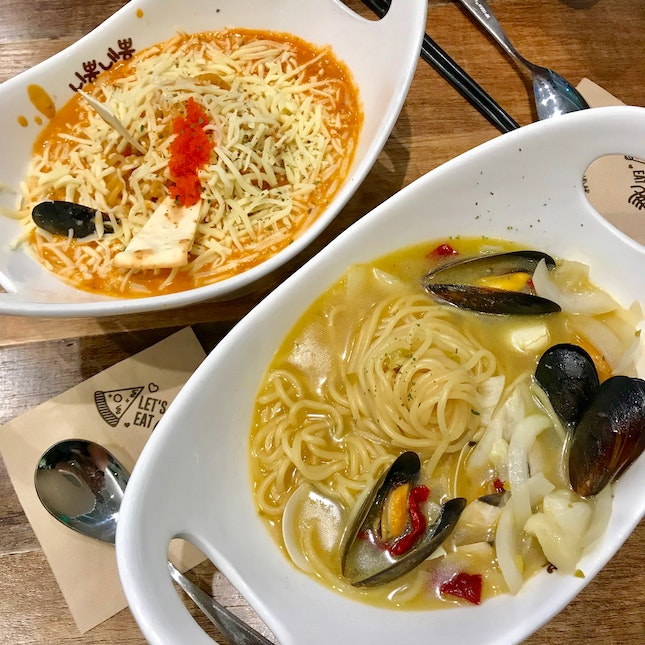 Ro Ppong-Roje ($17.80) & Vongole Ppong ($16.80).