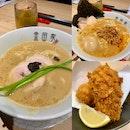 Truffle Ramen x Gekikara Ramen x Crab Cream Korokke