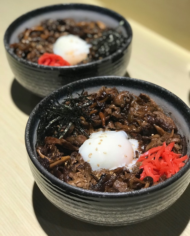 Truffled Gyudon With Onsen Tomago
