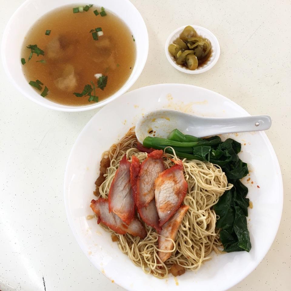 Barbecued Pork Noodles
