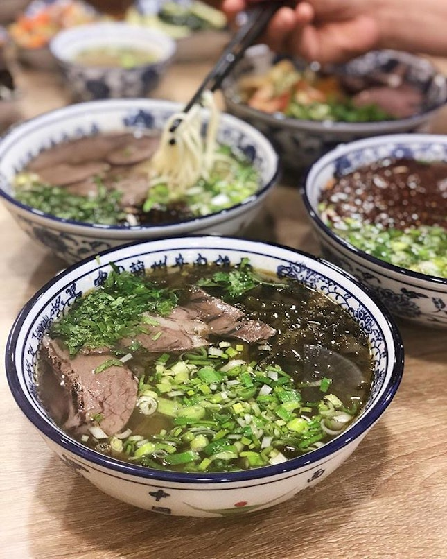 Authentic Lanzhou Beef Noodles