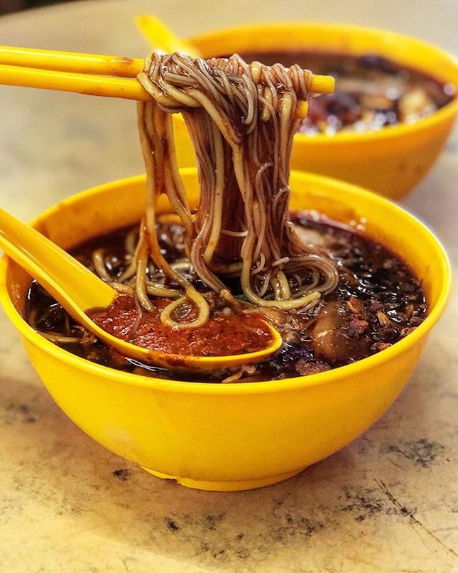 The Loh Mee here is really yummy, thanks to my Penang friend @debtdash for bringing me here.