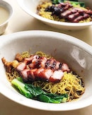Char Siew Wanton Noodle ($5)