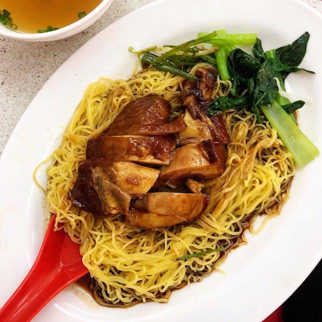 Soya Sauce Chicken Noodles