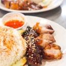 Char Siew & Roast Pork Rice