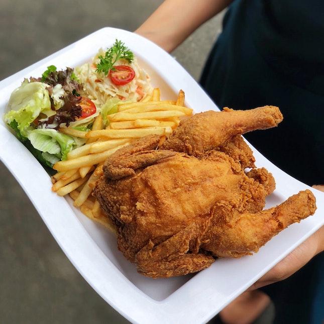 Signature Fried Spring Chicken ($18.50)