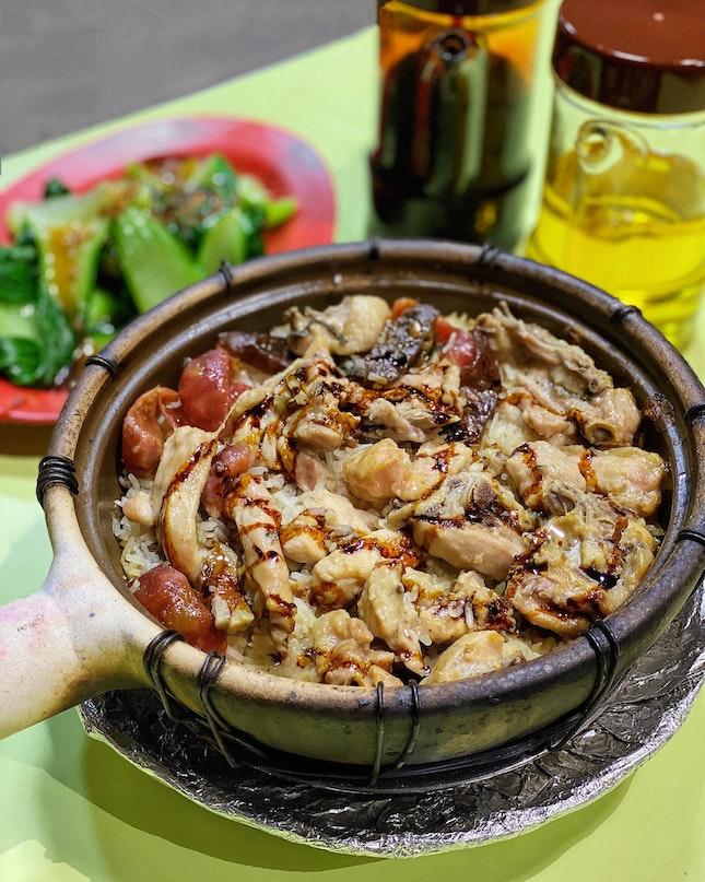 Claypot Chicken Rice ($20) - 3 Pax