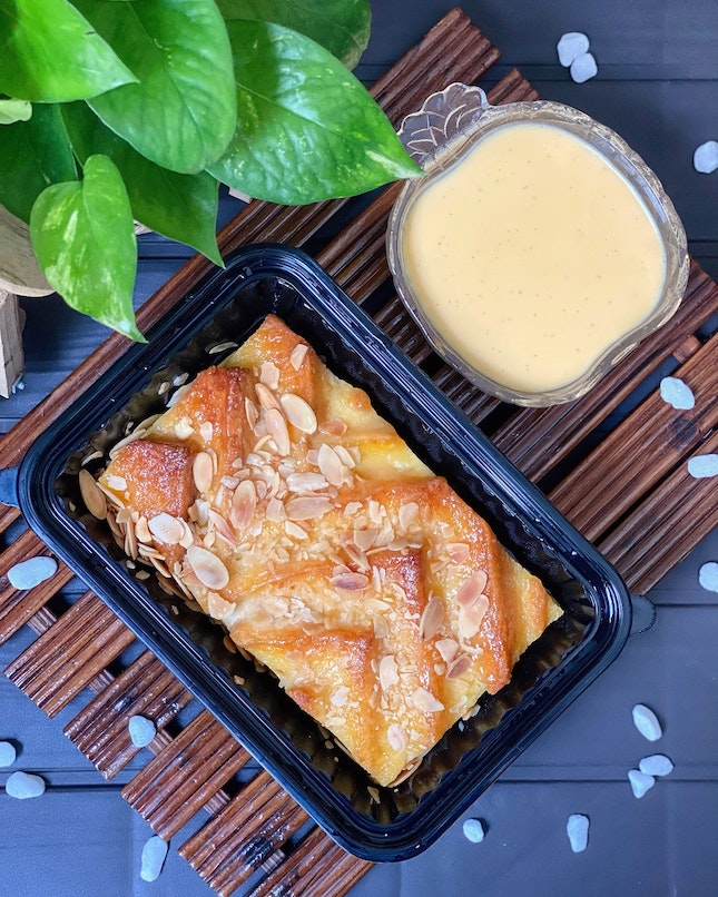Signature Bread & Butter Pudding ($35 for 600gm)