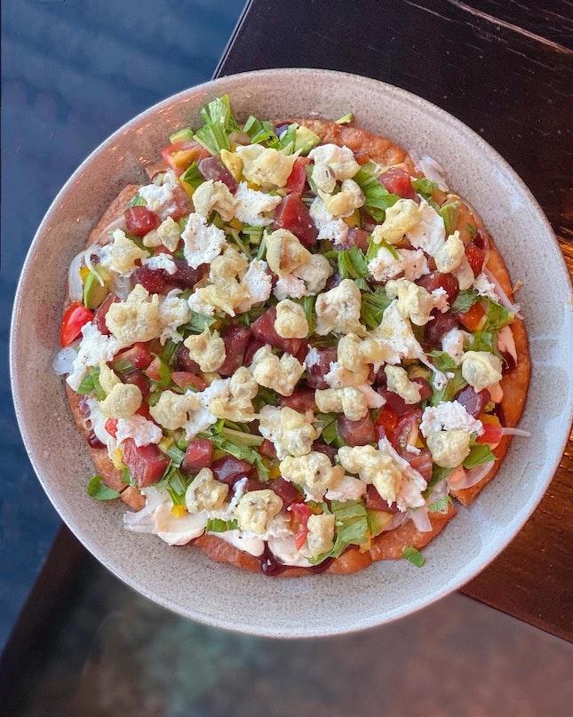 Tuna Tartare Tortilla ($34)