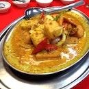 Egg inside Curry