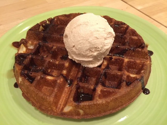 Classic Waffle With Nuts About You