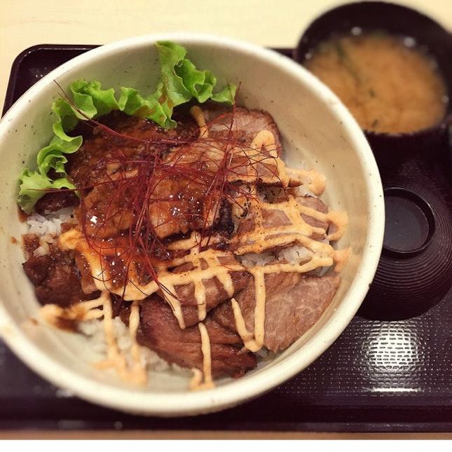 Tokusen Beef & Foie Gras Don ($22.90++)