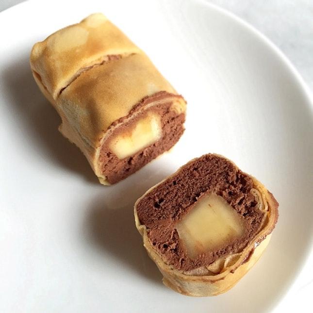 Banana Chocolate Crepe Singapore