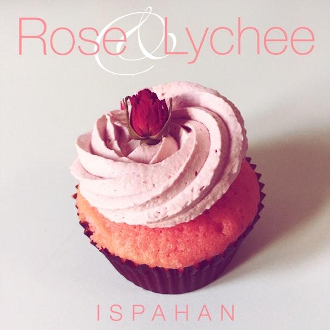 Ispahan Cupcake ($4)