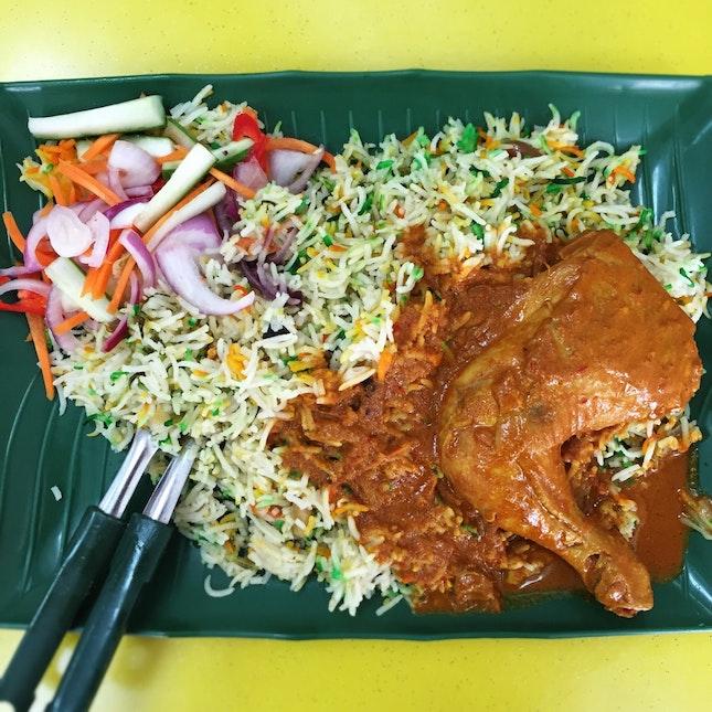 Chicken Briyani ($5.50)