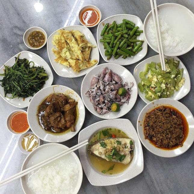 Teochew Porridge on Tanjong Katong Road - On The Whole, Barely Average.