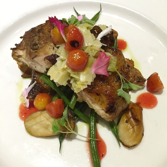 New Head Chef, New Direction: The Refined Grilled Chicken