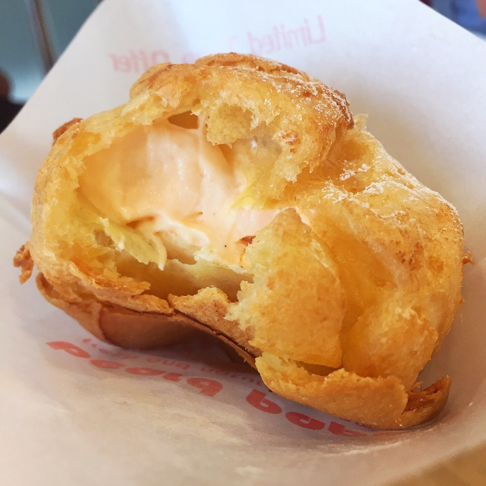 Limited Edition: Melon Cream Puff ($3)