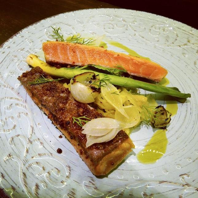 Cured Norwegian Salmon ($25++)
