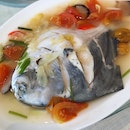 Steamed Pomfret - Price Varies Depending On Weight