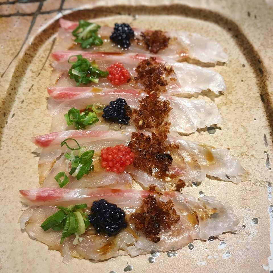 One Of The Courses In The $98++ Omakase Dinner