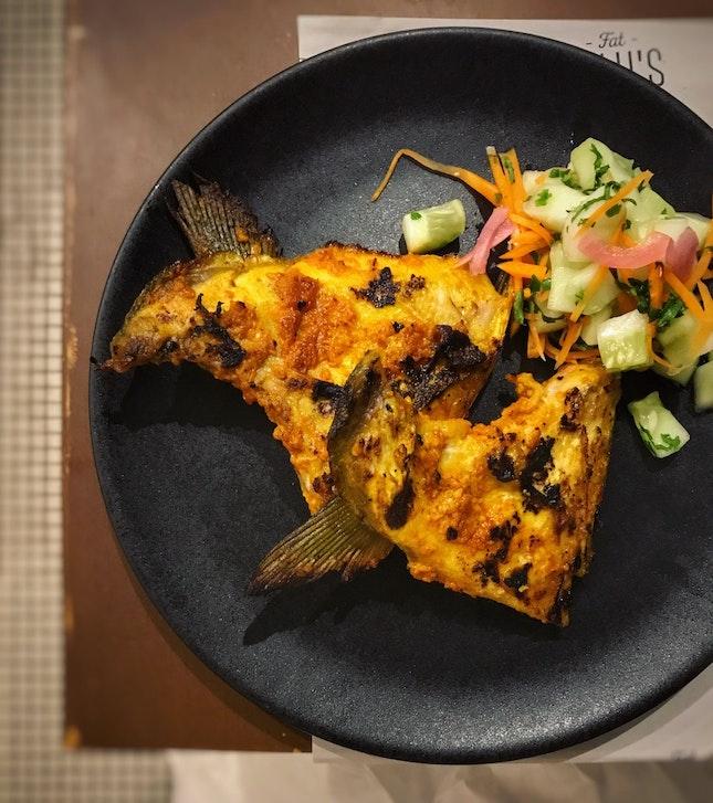 Ikan Bakar ($32++).