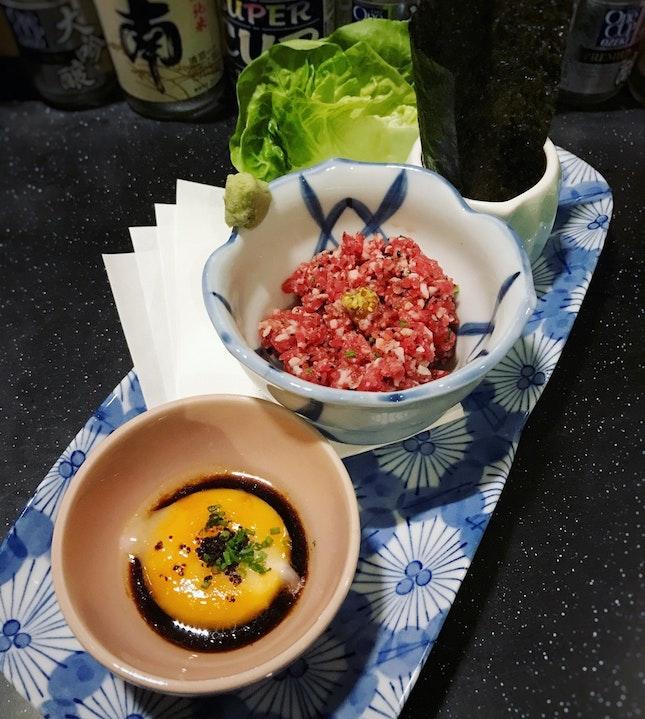 U.S. Prime Beef Tartare ($13++)