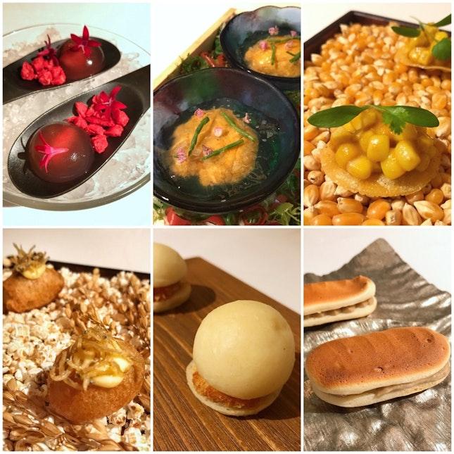 How Indulgent - Six Kinds Of Snacks To Start (Gastronomic Menu: $235++)