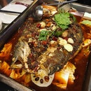 Ba Shu Style Grilled Fish (Snapper: $32++)