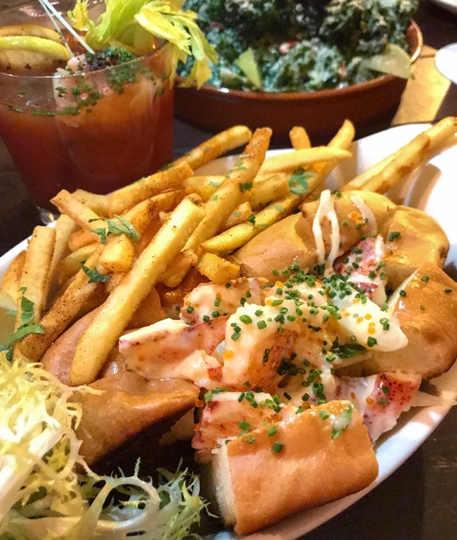 Love The Lobster Roll
