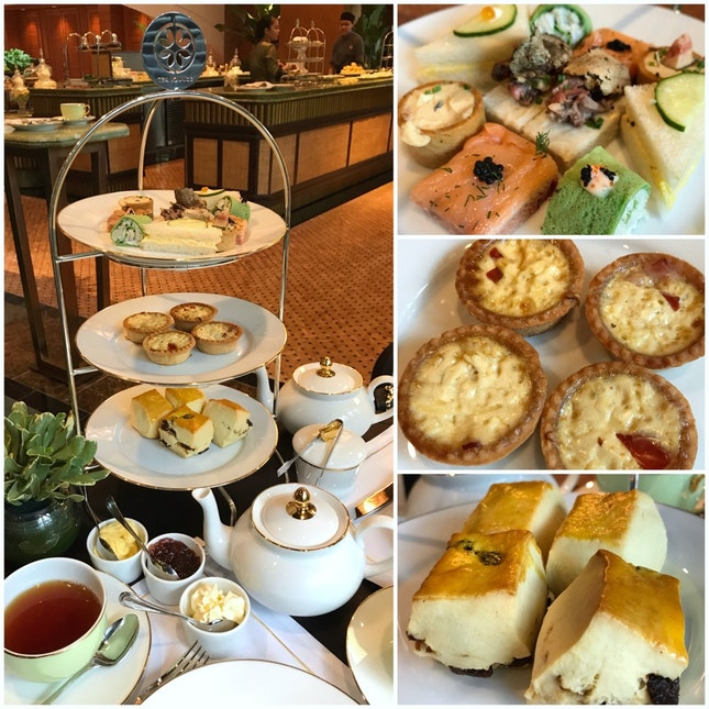 Weekday Afternoon Tea ($48++ Inclusive Of Two Drinks)